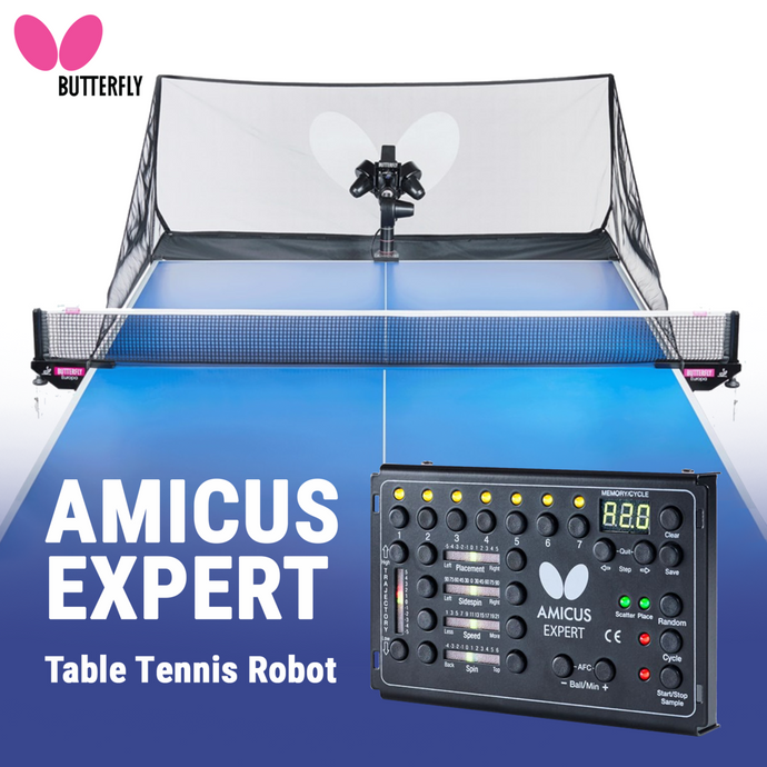 Butterfly Amicus Expert Ping Pong Robot