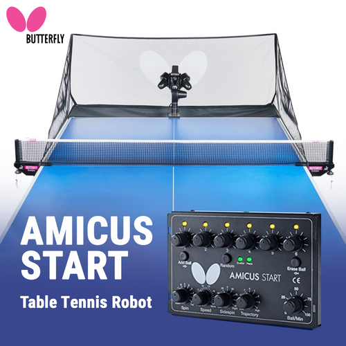 Butterfly Amicus Start Ping Pong Robot