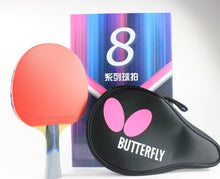 Load image into Gallery viewer, Butterfly Bty 802 FL Racket Set Ping Pong Racket