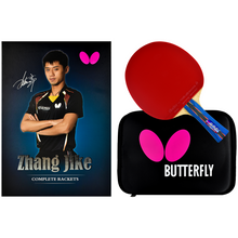 Load image into Gallery viewer, Butterfly Zhang Jike Box Set Ping Pong Racket
