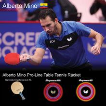 Load image into Gallery viewer, Butterfly Alberto Mino Pro-Line Ping Pong Racket