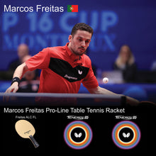 Load image into Gallery viewer, Butterfly Marcos Freitas Pro-Line Ping Pong Racket
