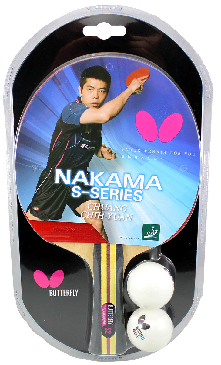 Butterfly Nakama S-2 Ping Pong Racket