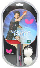 Load image into Gallery viewer, Butterfly Nakama S-6 Ping Pong Racket