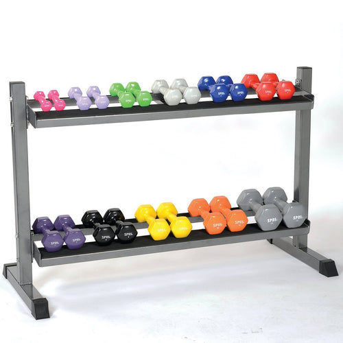 SPRI 2-Tier Dumbbell Rack