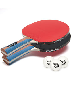 Table Tennis Paddles - Jet Set 2 Premium Paddles By Killerspin