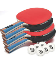 Load image into Gallery viewer, Table Tennis Paddles - Jet Set 4 Premium Paddles By Killerspin