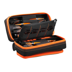 Casemaster Plazma Pro Dart Case with Color Zipper and Phone Pocket