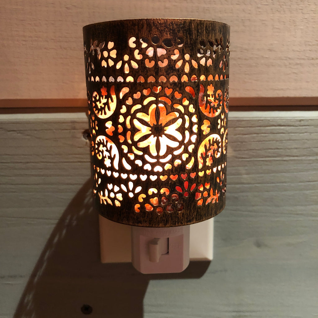 Night Light - Moroccan Cylinder