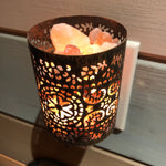 Load image into Gallery viewer, Shadow Lantern Night Light - Moroccan Cylinder