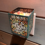 Load image into Gallery viewer, Shadow Lantern Night Light - Patina (Square)