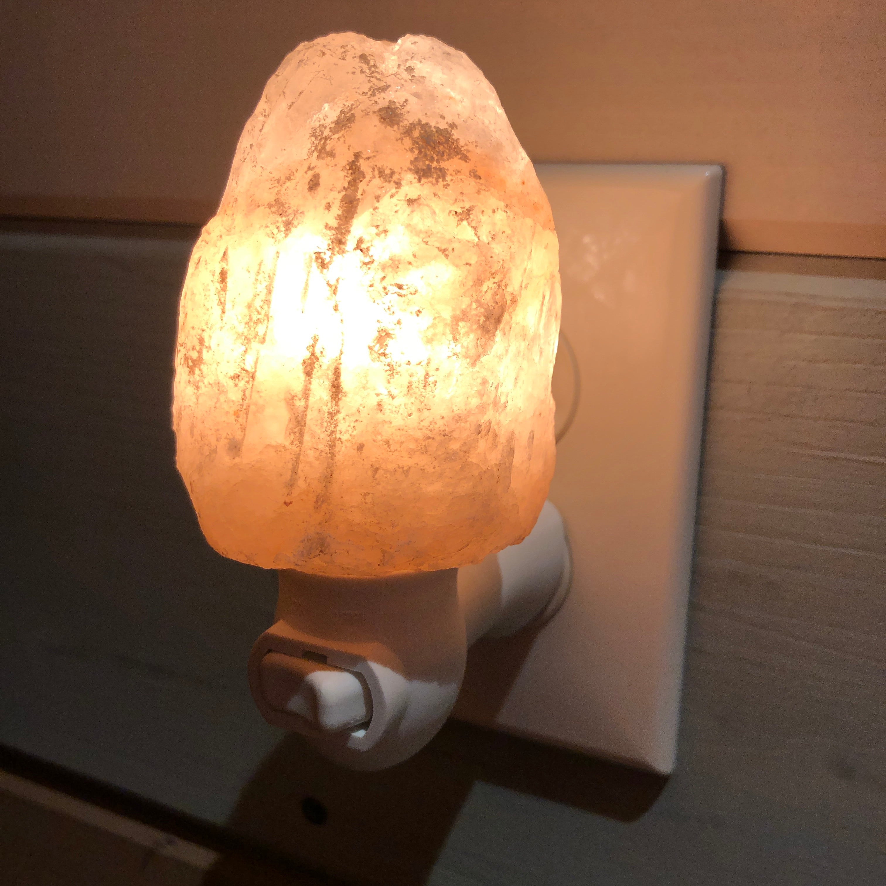 Himalayan Salt Night Light - Natural Cut