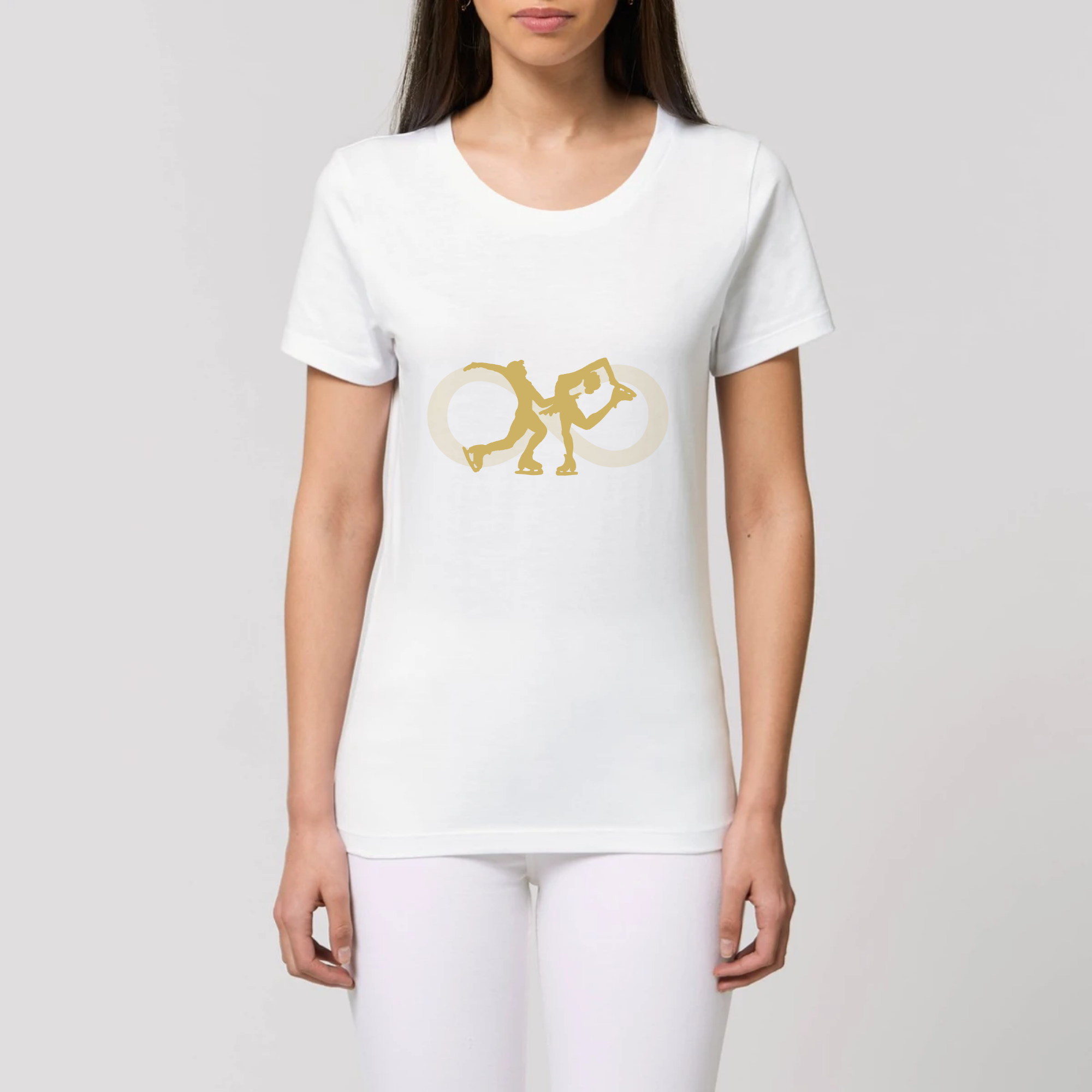 T-SHIRT BIO - COUPLE GOLD