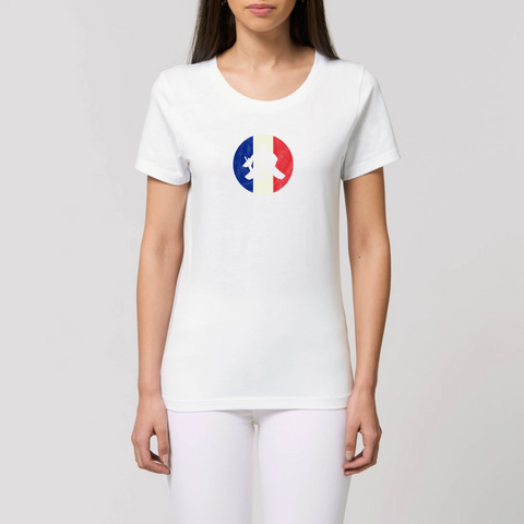 T-SHIRT FEMME BIO - FRANCE HOCKEY
