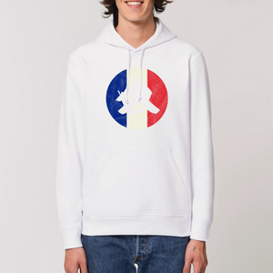 SWEAT À CAPUCHE HOMME BIO - FRANCE HOCKEY
