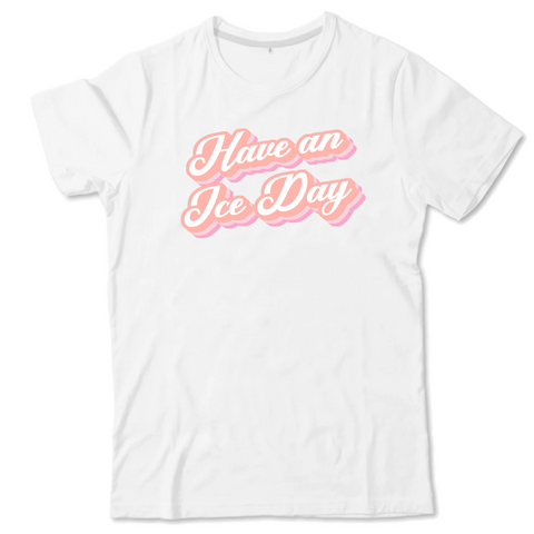 T-SHIRT ENFANT - ICE DAY ROSE