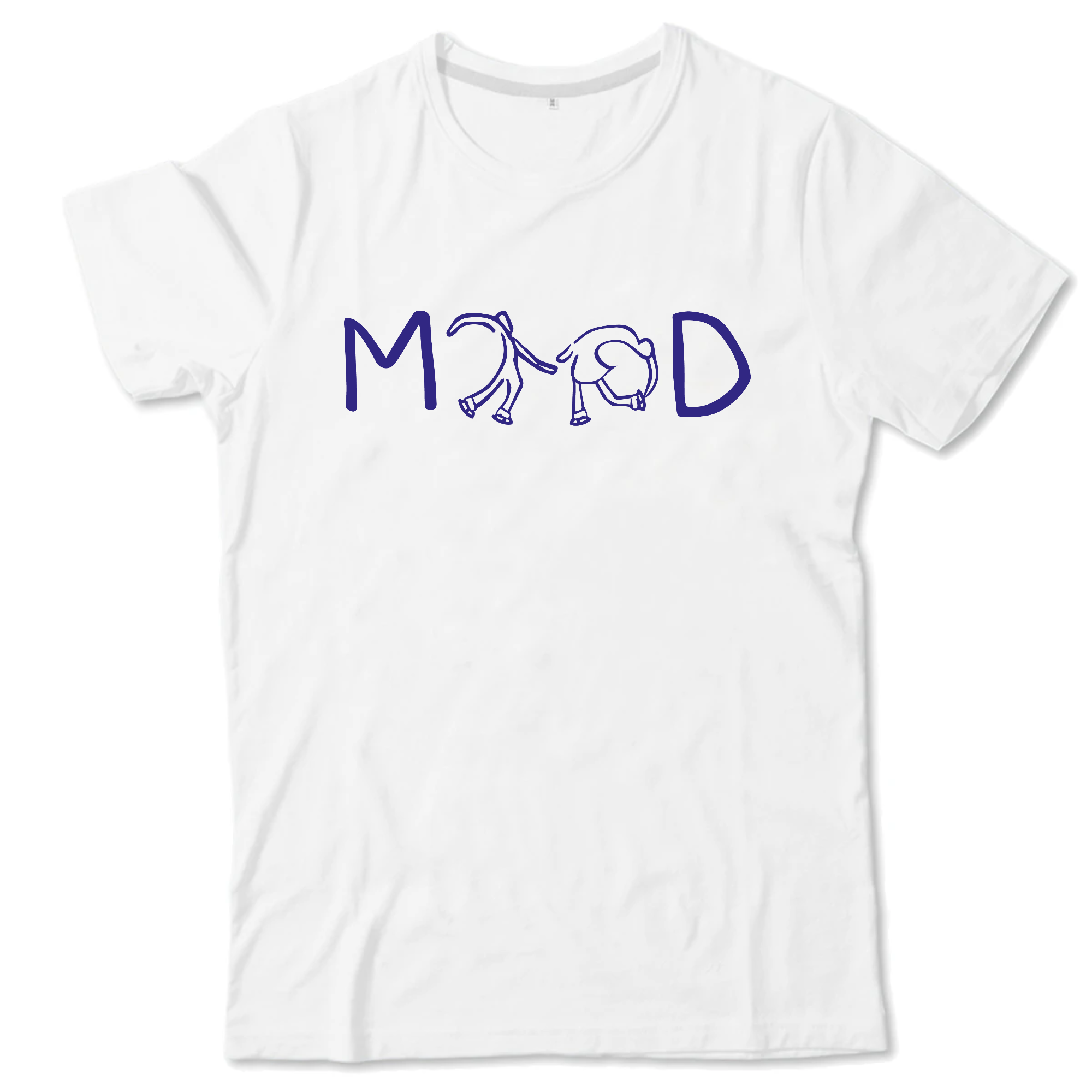 T-SHIRT ENFANT - MOOD BLEU