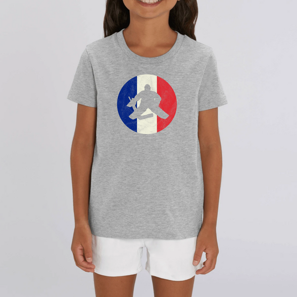 T-SHIRT ENFANT BIO - FRANCE HOCKEY