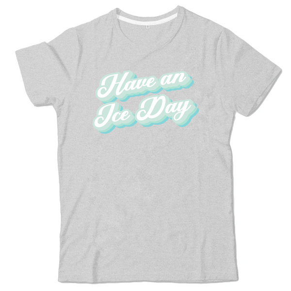 T-SHIRT ENFANT - ICE DAY BLEU