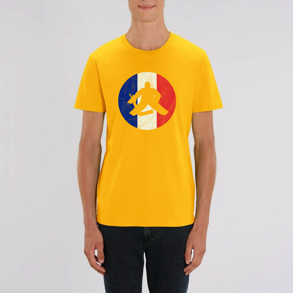 T-SHIRT HOMME BIO - FRANCE HOCKEY