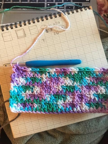 Bobbles to the Rescue; hot pad, pot holder, tool keeper