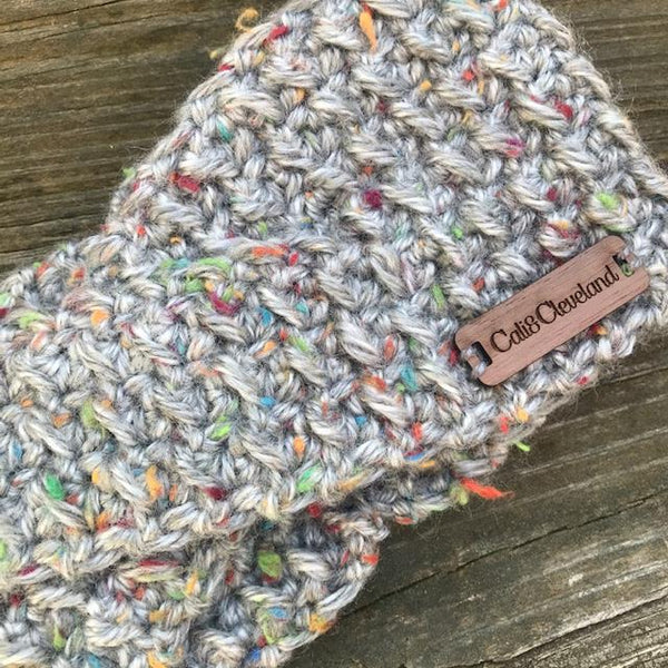 Mommy and Me crochet headband by Cali & Cleveland