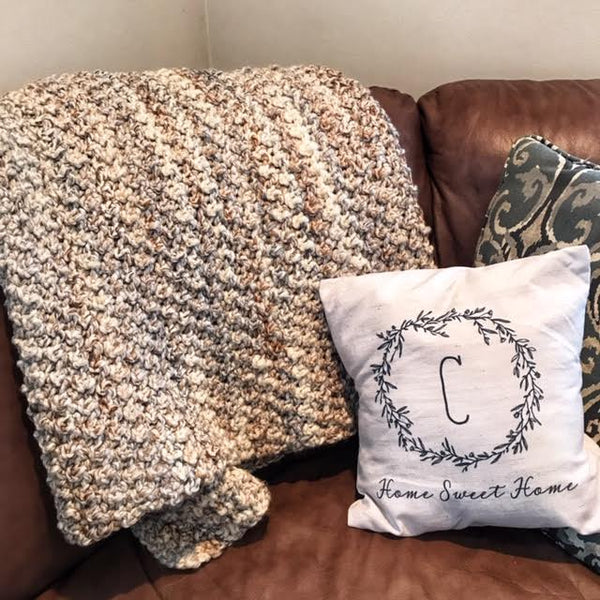 Crochet Pattern - Cuddle Me Throw - PDF Download