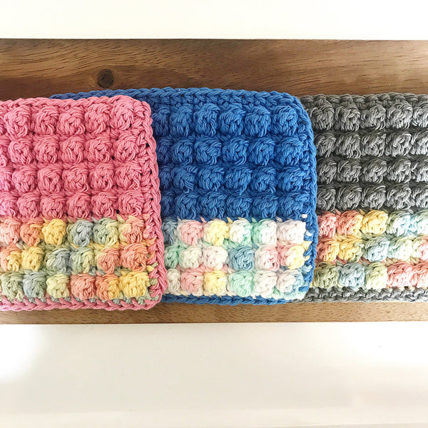 Super Scrubby Reusable Cotton Dish Cloth 3 Pack