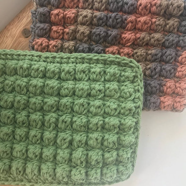 Super Scrubby Dish Cloth Pattern, $1, by Cali & Cleveland