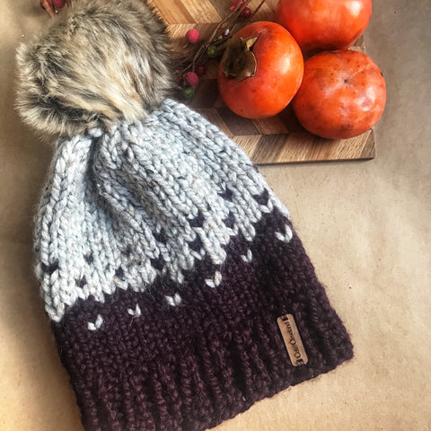 Warm and Cozy Crochet Hat by Cali & Cleveland