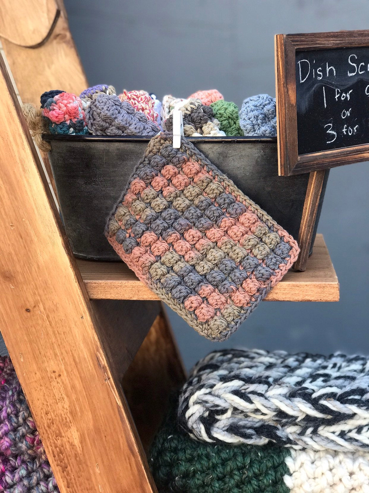 Super Scrubby Dish Cloth, Sustainable, Reusable by Cali & Cleveland