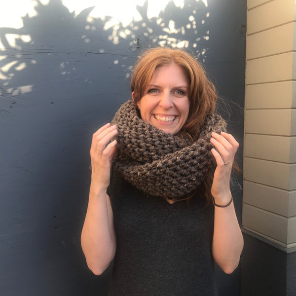 Crochet Infinity Cowl by Cali & Cleveland