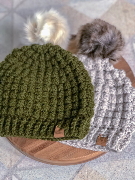 Crochet Hat pattern by Cali & Cleveland