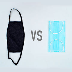 Cloth Face Mask vs Surgical Face Mask
