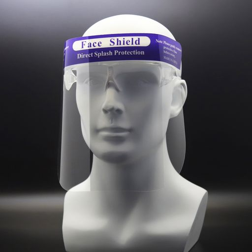 Face Shield with Eye Frame