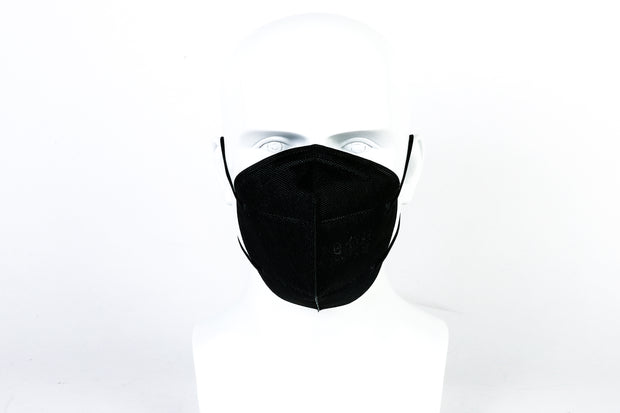 SQ KN95 Mask - C-Shape BLACK