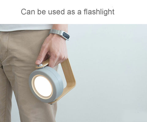 Touch controlled foldable LED light perfect as a flashlight