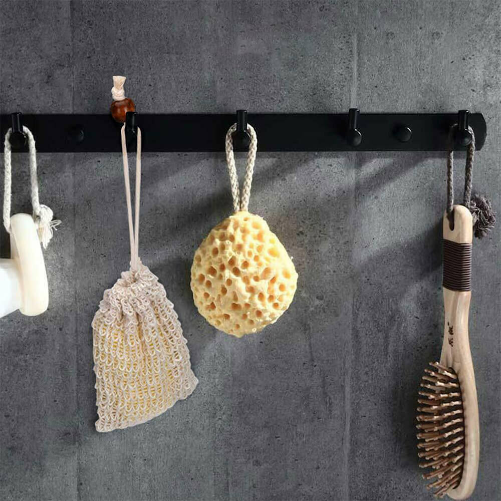 Eco-friendly soap saver bag can be hung to dry