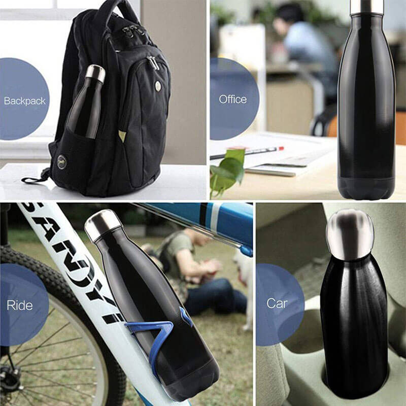 The insulated stainless steel bottle with great portability