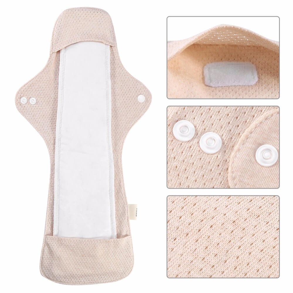 Organic cotton sanitary pad
