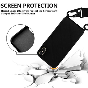 Screen protecton feature of the silicone iphone case
