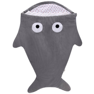 Cartoon Shark Baby Sleeping Bag