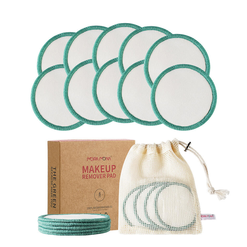 Mora Mona Reusable Bamboo Cotton Rounds - 10pcs/pack