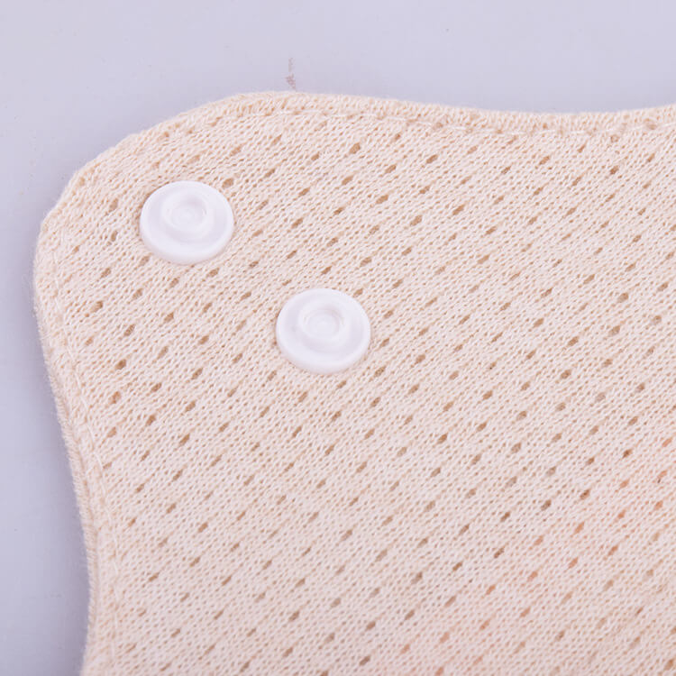 Washable cotton sanitary pads with meshed inner layer design