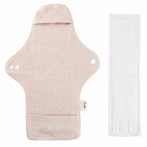 Reusable cotton menstrual pad  with detachable insert design