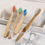 eco friendly bamboo toothbrush for kids