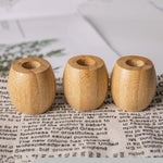 Bamboo toothbrush holder real shot