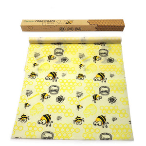 reusable beeswax food wrap roll, color XHY-01