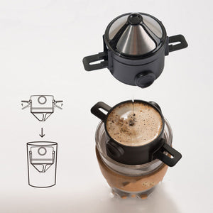 Foldable & Reusable Coffee Filter