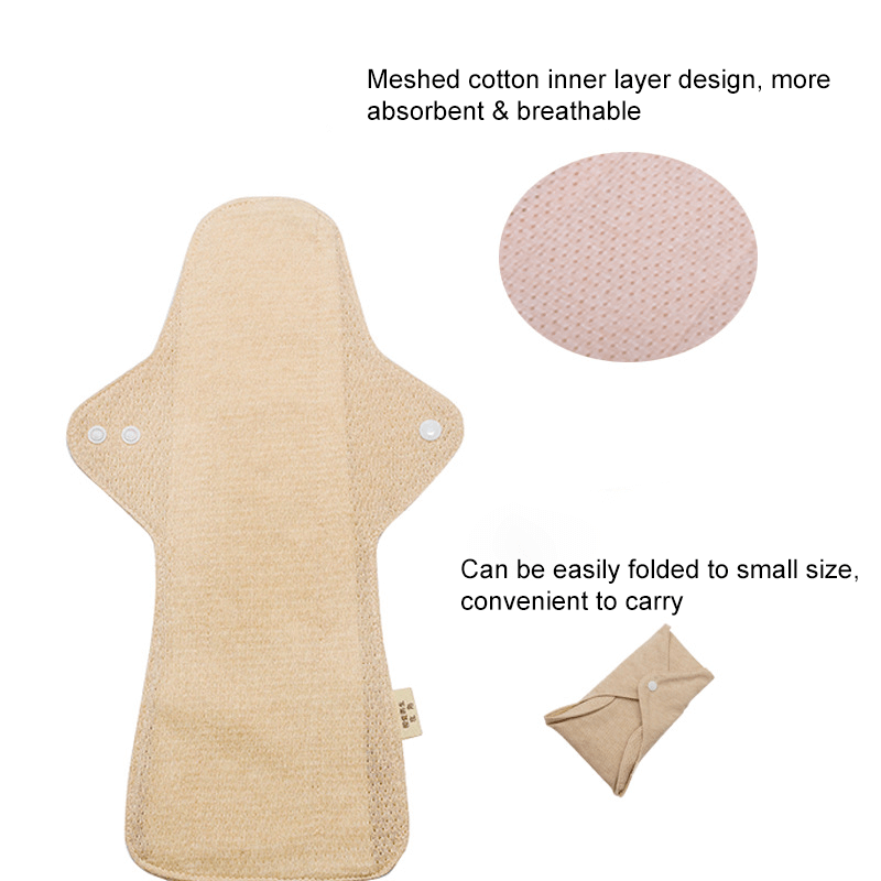 Reusable Organic Cotton Menstrual Pad
